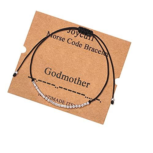 Godmother Morse Code Bracelet