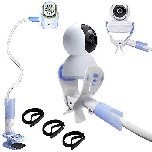 Platree Supporto da Videocamera Universale per Bambini, Porta Monitor Flessibile per Bambini Supporto per Baby Monitor Girevole a 360 gradi