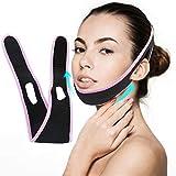 Mimeio V Lifting Masque, Face Lift Belt, Ceinture De Lifting, Double Menton Réducteur, Bandage de Levage Facial Sans Douleur Pour les Femmes Elimine le Relâchement de la Peau Raffermissant Anti-âge