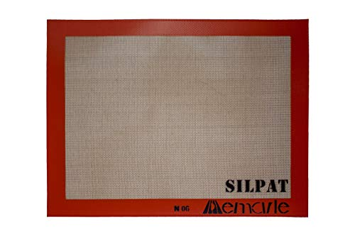 Demarle SilPat Backmatte, Silikonbackmatte, das Original, Maße:520x315 mm