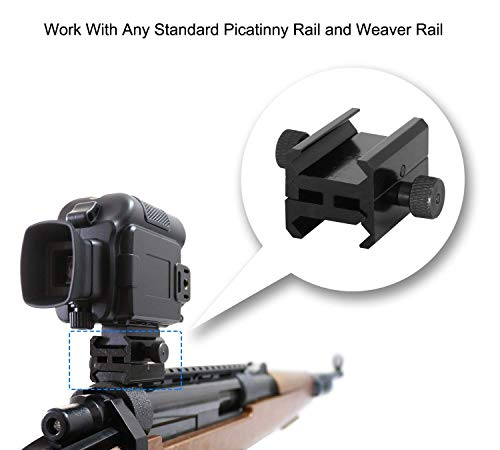 Bestguarder Picatinny zu Picatinny Rail Mount Klemme Adapter SYA-101