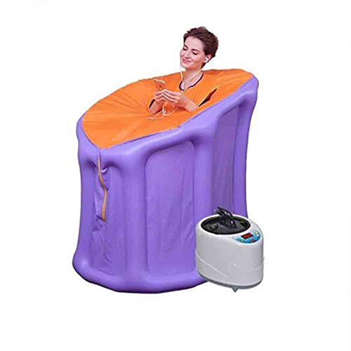 Portable Steam Sauna 2L 1000W Nfrared Person huis Sauna Spa Hot, Personal Spa Body Heater Detoxify Thuis Transpiratie Afvallen met Remote temperatuurregelaar