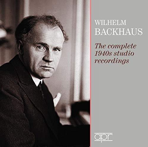 Wilhelm Backhaus - The Complete 1940s Studio Recordings