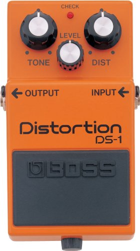 BOSS DS-1 Distortion Pedal, Classic TOnes For All Types of Music