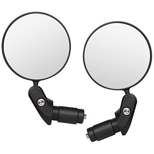 Cyleibe Adsshopp - Juego de 2 espejos retrovisores plegables para bicicleta eléctrica,...