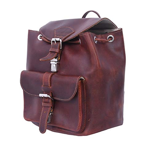 Celtic City Backpack (Leather Brown)