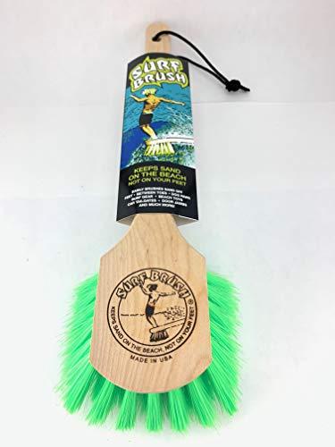 Surf Brush Long Handle Green