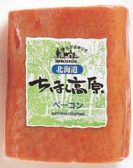 北海道 ちほく高原ベーコン 400g×3個 ブロック 十勝池田食品 大人のおつまみ オードブルやベーコンステーキにも活躍
