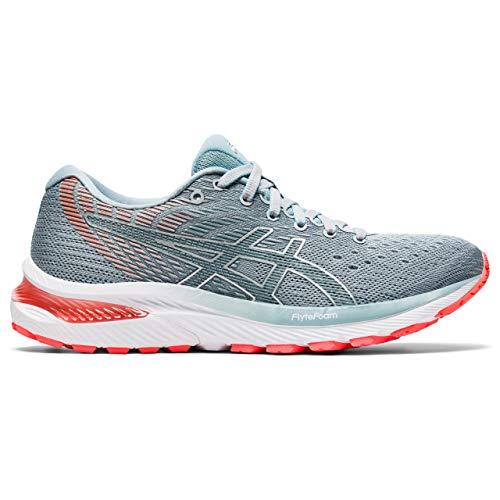 ASICS Womens Gel-Cumulus 22 Running Shoe, Piedmont Grey/Light Steel, 40 EU