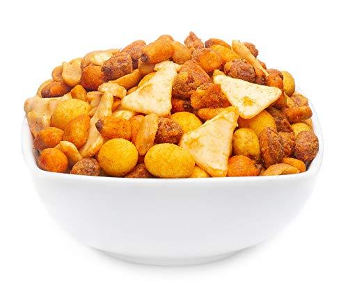 2 x 550g Nussmischung Mexico mit Erdnuss Mais und Reis vegetarisch 16 % Protein