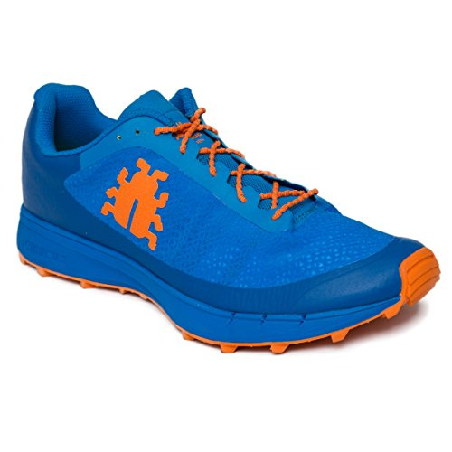 Icebug - Zapatillas Oribi M Rb9X para Trail Running, Color Azul/Naranja, 42