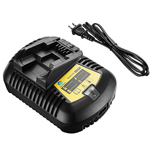 Firstpower Replacement DCB115 Battery Charger Compatible with Dewalt 20V Lithium Battery DCB101 DCB105 DCB203 DCB205 DCB112 DCB200 DCB207 Replacement for 12/20V Cordless Tools