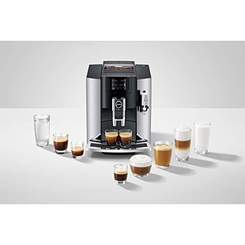 Jura E8 drink options