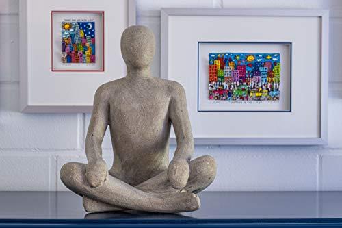 Moderne Skulptur Figur Sandsteinguss