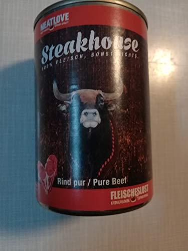 Fleischeslust Steakhouse Rind Pur, 1er Pack (1 x 410 g)