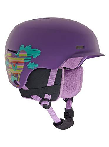 Anon Mädchen Flash Snowboardhelm, Baloonz Purple, LXL