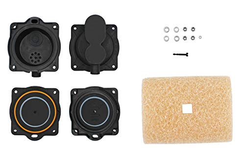 Air Pump Rebuild Complete Kit HP-80 HP-60 Replace for Hiblow HP 80,HP 60,Including the Filter and Safety screw.
