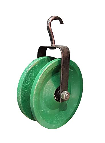 MDT India Simple Ball Bearing Pulley for Lifting Rope Exercise Well Home Gym Swivel Rigging