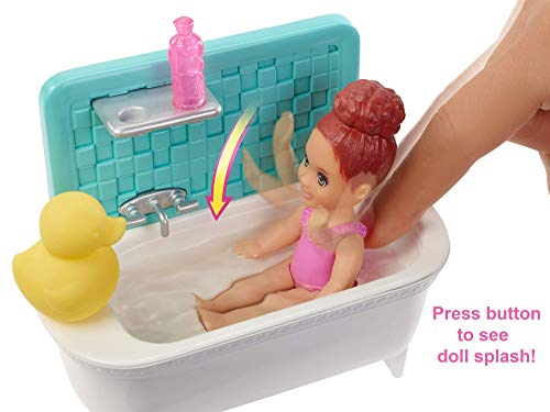 Barbie Babysitter Doll with baby and accessories