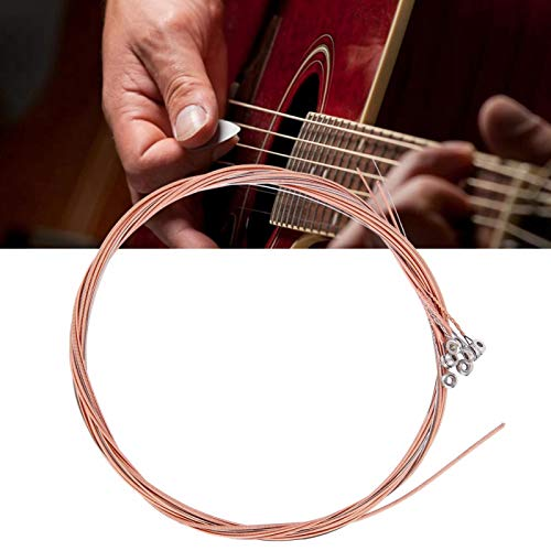 Cuerda de guitarra acústica duradera para entusiastas de la guitarra