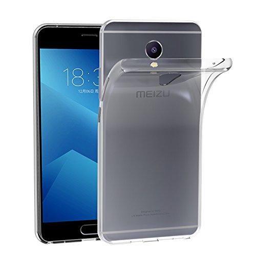 Meizu M5 Note Hülle, iVoler Ultra-Clear Meizu M5 Note Tasche Cover Silikon Soft TPU Premium Durchsichtig Handyhülle Schutzhülle Case Backcover Bumper Slimcase für Meizu M5 Note - Transparent