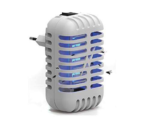 Elightrading Modern Home Office Indoor Plug-in Night Light Bug Zapper. NonToxic Killer for Mosquito, Gnats, Fruit Flies, Flys, and Flying Insects