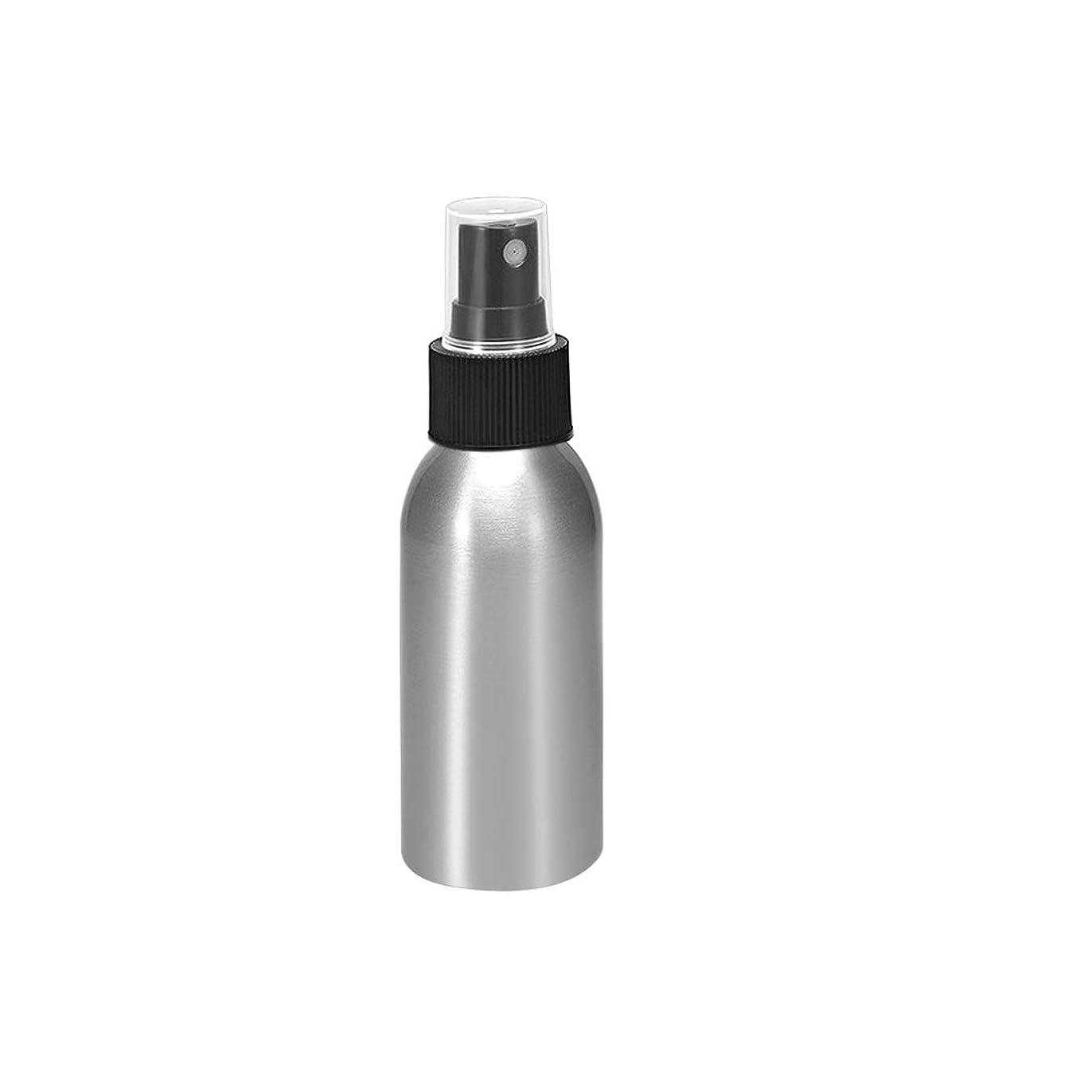 学校の先生ヨーロッパ逆uxcell uxcell アルミスプレーボトル ブラックファインミストスプレー付き 空の詰め替え式コンテナ トラベルボトル 1oz/30ml