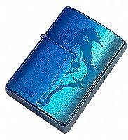 zippo WINDY 青色 2007年製造