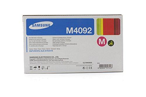 Toner cartridge Original Samsung 1x Magenta CLT-M4092S for Samsung CLX-3170 FN