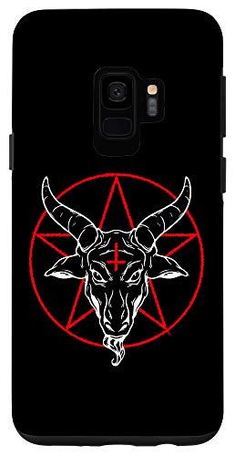 Galaxy S9 Baphomet goat - Satanic Pentagram Case