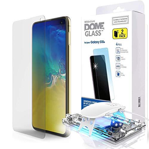 Whitestone Dome Glass - Best Galaxy S10E Screen Protector