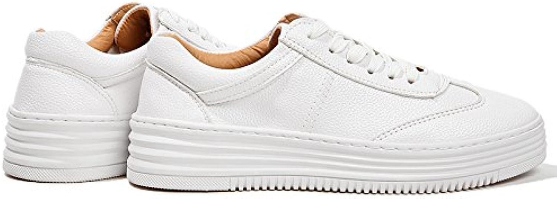 NGRDX&G Weiblichen Weißen Zufälligen Sportschuhen Sportschuhen Sportschuhen Der Weißen Schuhe Weiblicher Zufälliger Starker Unterer Bügel Einzelne Weibliche  dd3450