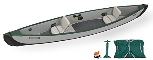 Sea Eagle TC16 Inflatable Travel Canoe Basic...