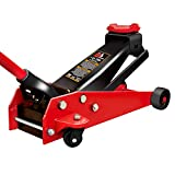 BIG RED T82751 Torin Pro Series Hydraulic Floor Jack with Single Quick Lift Piston Pump, 2.75 Ton (5,500 lb) Capacity, Red