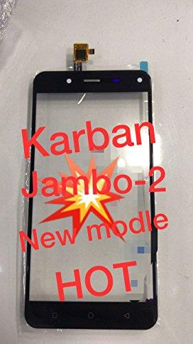 Just Mobile Touch Screen Digitizer for Karbonn Jumbo 2 Black