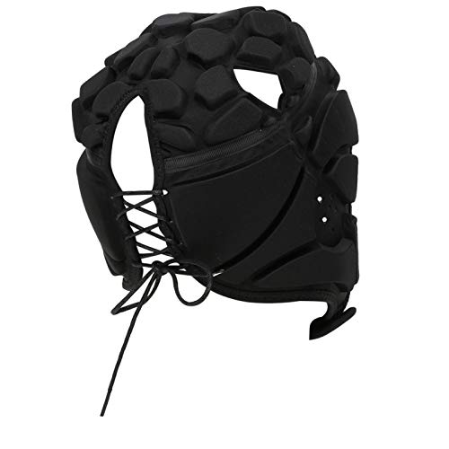 Mxzzand Protector de Cabeza Deportivo Protector de Cabeza de Casco de Ajuste elástico Resistente a la abrasión para Deportes al Aire Libre(Black S)