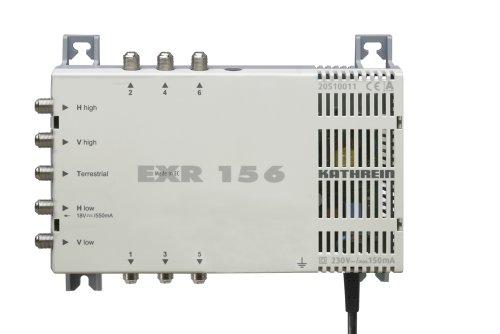 Kathrein EXR 156 Satelliten-ZF-Verteilsystem Multischalter (1 Satellit, 6 Teilnehmeranschlüsse, Klasse A)