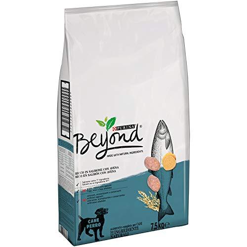Purina Beyond Pienso Natural para Perro Adulto Salmón y Avena 7,5 Kg
