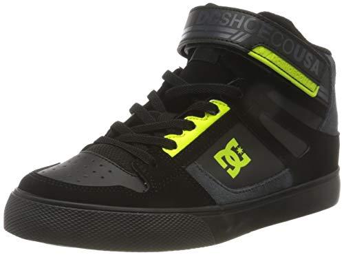 DC Shoes Pure High-Top EV - Zapatillas de Cuero Altas - Niños - EU 35
