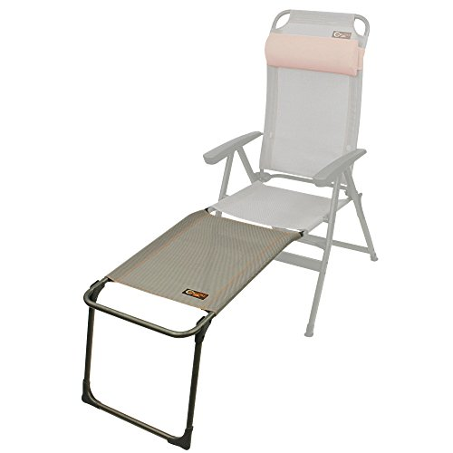 Portal Anna - Fußablage für Camping-Stuhl, Hochlehner Ken, 65x48x42cm