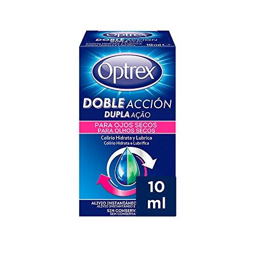 Optrex Colirio Multidosis Doble Acción para Ojos Secos - 1 Unidad
