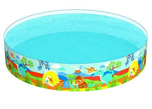 Bestway 55001 billar para niños - Billares para niños (Multicolor, PVC, Vinilo, Estampado, 3 año(s), 1612 L, 2,44 m)