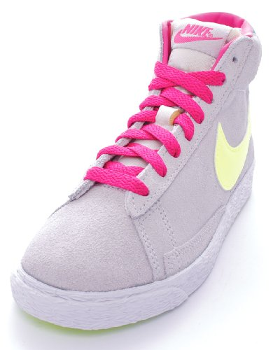 Nike BLAZER MID VINTAGE (PS) Unisex Bambino, Pelle Sneaker High, 28 EU