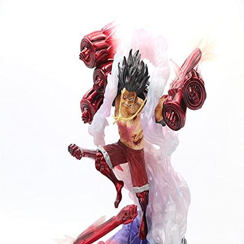 Taxpy Anime Statua Giocattolo Rufy Card II Oversize GK Statue Kata Kuri Battle Scene Figure...