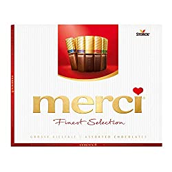 Merci Finest Selection Great Variety Chocolate, 250g
