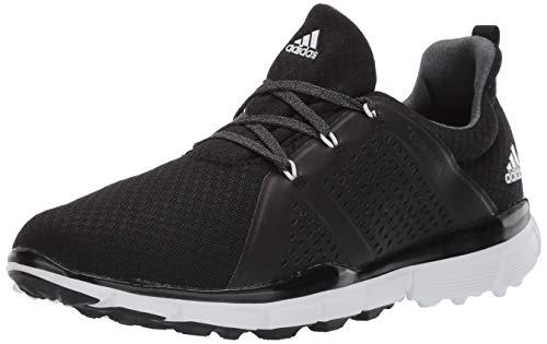 adidas Women's Climacool CAGE Golf Shoe, core Black/FTWR White/Grey six, 6 M US