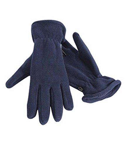 Result - gants polaires ACTIVE FLEECE GLOVES R144 - mixte homme/femme - coloris BLEU MARINE - taille M