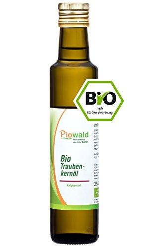BIO Traubenkernöl 250 ml, kaltgepresst