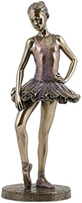 10.25 Inch Figure Ballerina Full Pointed Position Devant Collectible