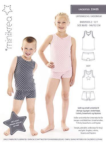 MAGAM-Stoffe Unterwäsche Schnittmuster Kinder inkl. Aufnäher Enno